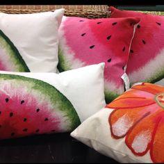 outdoor pillows- Front Door Fabrics