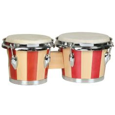 Two-Tone Tunable Bongo Set by X8 Drums. $43.50. Handmade bongos with seven-inch and eight-inch high-quality heads. Self-aligning tension casings for easy tuning. Chromeplated hardware. Two-toned painted wood finish.
