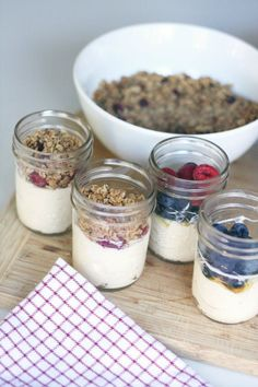 Make-Ahead Yogurt Parfaits Recipe