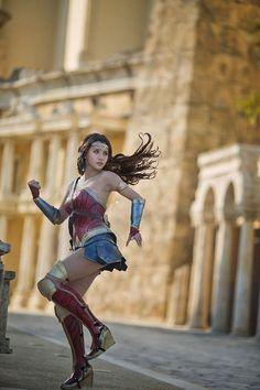 This Wonder Woman Has Gone Beyond Cosplay