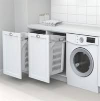 Stackable washer and dryer google search busy spaces pinterest dryer and washer - Laundry hampers for small spaces plan ...