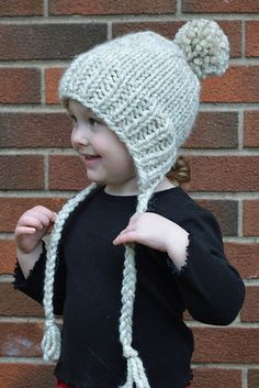 Ravelry: Split-Brim Toddler Hat pattern by Stranded Knitter
