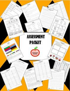 Assessment Packet by Innovative Teacher. Great for Back To School and End of the Year evaluations! Included are 15 assessments that will give you a quick snap shot of each student's academic growth.