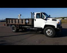 2003 GMC C7500 14FT FLAT BED WITH GATE  - $9800,  http://www.afetrucks.com/medium-duty-trucks---flatbed-trucks-2003-gmc-c7500-14ft-flat-bed-with-gate-used-pinellas-park-fl_vid_49297_rf_pi.html