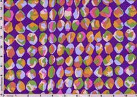 Brandon Mably Fabric, Baubles Purple (per 1/4 metre)