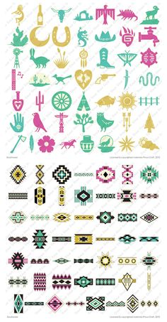 Cricut Southwest Cartridge. I want this. It reminds me of my childhood in New Mexico.