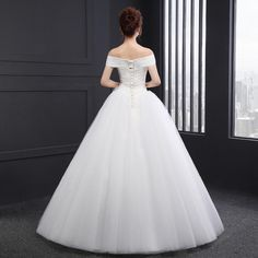 Sl-8021 Pure Strapless Tulle Flowers Ball Gown Wedding Dress Photo, Detailed about Sl-8021 Pure Strapless Tulle Flowers Ball Gown Wedding Dress Picture on Alibaba.com.