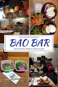 Ever since the Bao Bar opened in Vienna, I am a frequently there eating Bao and sweet potato fries. Now the time to write about them has finally come. Vietnamese Restaurant, Vietnamese Cuisine, Bao Bar, Best Vegetarian Restaurants, Fast Food Places, Wiener Schnitzel, Peking Duck, Austrian Recipes, Japanese Sushi