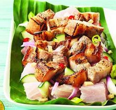 Pinoy Sinuglaw (Sinugba kag Kinilaw) recipe