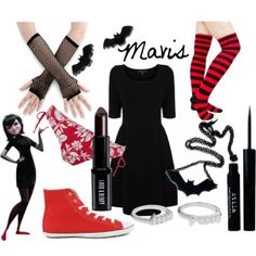 """Mavis Dracula from Hotel Transylvania"" by likeghostsinthesnow on Polyvore"