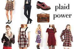 plaid is back   90s fashion | Plaid