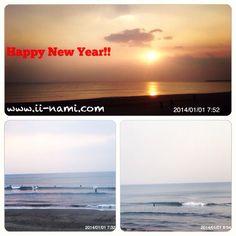 Happy New Year 2014.01.01@Kisakihama