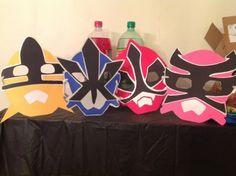 How to Make Power Rangers Samurai Masks