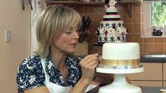 Little Venice Cake Company: Ribbon Insertion