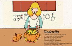 Μέρος 4ο– Η Σταχτοπούτα μαγειρεύει την κολοκύθα.