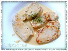 Recetas Light - Adelgazaconsusi: Medallones de pollo en salsa ligera Cocina Light, Peruvian Recipes, Chef, Shrimp, Cooking Recipes, Meat, Chicken, Food, Chicken Recipes