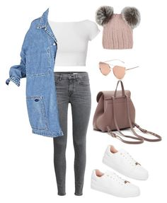 """""""Untitled #5422"""" by lilaclynn ❤ liked on Polyvore featuring Topshop, Helmut Lang, Eugenia Kim and topshop"""