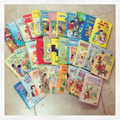❤️ enid blyton ❤️ i think i've read all of these :)