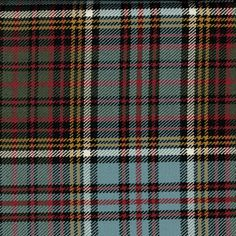 Anderson Muted Tartan. Strome Heavy Weight Fabric from Lochcarron of Scotland, sold by the metre. 500-515gm per linear metre 138 cm wide. . . Sold by TartanPlusTweed.com A family owned kilt and gift shop in the Scottish Borders