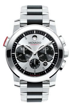The Movado Vizio Chronograph is truly a beautiful timepiece of a superb design, which enables it to be perfectly suitable for business environment.