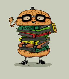 Geek Burger Art Print by Ifan Rofiyandi | Society6 #art  #design #awesome #print  #poster  #color  #cool  #gift  #gift #ideas  #hipster  #funny  #Illustration  #threadless  #drawing  #girls  #beautiful #humor