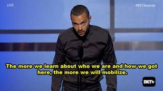 Jesse Williams Gave A Powerful Speech About Race In America At The BET...