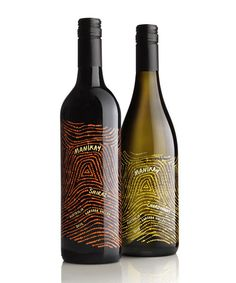These bottles inspired by the Australian Outback. | 33 Wine Bottles Every Design Lover Should See