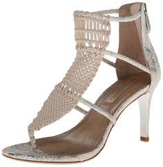 BCBGMAXAZRIA Women's MA Charlotte Dress Sandal -- For more information, visit now : Strappy sandals