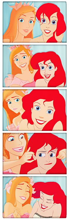 Giselle/Ariel - disney-crossover Photo