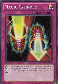 Magic Cylinder Yu-gi-oh! TCG Trap Card
