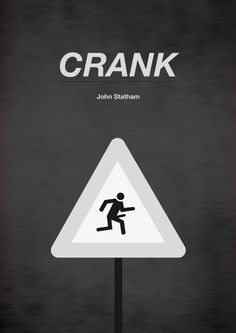 Crank (2006) ~ Minimal Movie Poster by Alessio Maisano #amusementphile