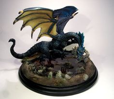 Dragon of the Blood Moon - Visions in Fantasy - Miniature Lines