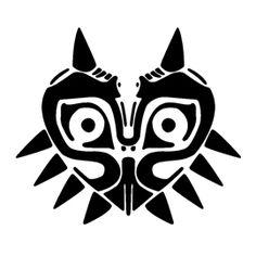 The Legend of Zelda - Majora's Mask Stencil