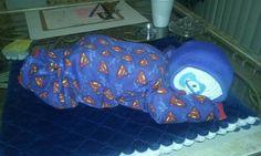 Super baby diaper cake