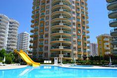 Pamfilia Residence Wohnung in Alanya zu verkaufen - Möblierte günstige Wohnung im Mahmutlar Zentrum in gepflegter Wohnanlage mit vielen Freizeiteinrichtungen