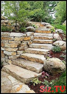 47 Captivating Backyard Garden Landscaping Ideas On A Budget -   Garden landscaping is a great way to update a backyard. Garden landscaping is becoming a popular way to get the most out of gardens--visually a. Hillside Landscaping, Front Yard Landscaping, Landscaping Ideas, Walkway Ideas, Path Ideas, Outdoor Landscaping, Inexpensive Landscaping, Stone Landscaping, Country Landscaping