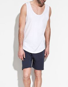 HOMEWEAR VEST TOP - Homewear - Man - ZARA