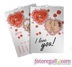 IDEA REGALO N.4 - Il foto calendario è il regalo perfetto se hai tanti scatti insieme alla persona che ami: puoi stampare fino a 13 foto per donare un anno tutto da vivere insieme! http://www.fotoregali.com/stampe/calendari/multipagina