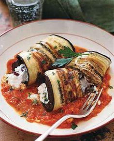 Eggplant Cannelloni-Full Recipe Here