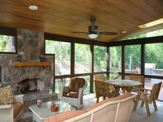 Awesome Covered Patio Plans Collection For Your Homelandscaping Screened Ideas a