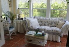 Sunroom Furniture Wicker Southern Grace Comfortable Sofa
