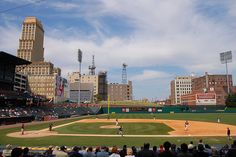 Autozone Park home of the Memphis Redbirds. (triple- A affiliate of the St. Louis Cardinals)