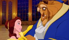 """""""Tale as old as time  True as it can be  Barely even friends  Then somebody bends  Unexpectedly    Just a little change  Small, to say the least  Both a little scared  Neither one prepared  Beauty and the Beast""""- Self-explanatory :)"""