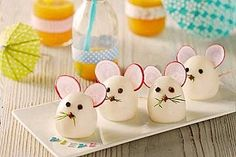 59 Trendy ideas for baby food finger fun Mouse Recipes, Baby Food Recipes, Food Baby, Healthy Recipes, Snacks Recipes, Cute Food, Good Food, Awesome Food, Deco Buffet