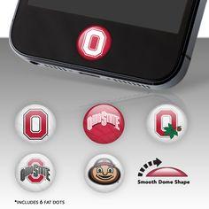 Ohio State Buckeyes Fat Dots - Ohio State Buckeyes - College Sports