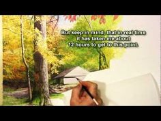 Watercolor Paint Lesson Part One of Bud Ogle Cabin, Great Smoky Mtns. by Share the beauty & Western North Carolina Watercolor Artist Michael M. Rogers. Part one of Michael M Rogers painting technique using transparent watercolors and gauche paint on Illustration Board. Part two coming soon. Visit www.sharethebeauty.tv