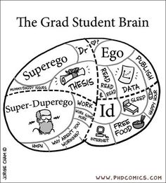 Psychology of a PhD student
