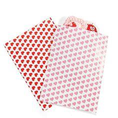 Valentine's Day Favor Bags - OrientalTrading.com