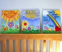Cute painting for nursery :)