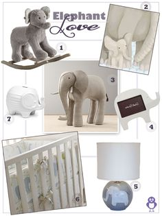 Keep Your Nursery Palette Light With An Elephant Themeu2026 Think Grey, Pale  Blues,